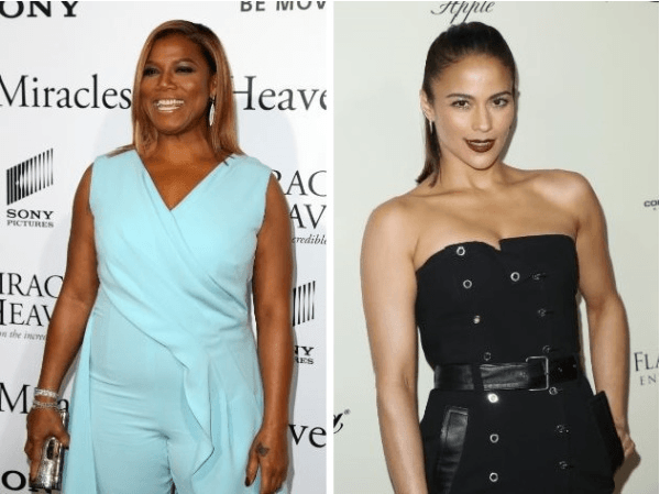 Queen Latifah and Paula Patton